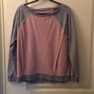 Lululemon pink and gray sweatshirt 10